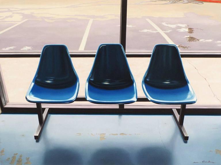 Three Blue Seats