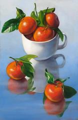 Mandarin Oranges with Cup