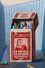 Ben Steele - Picasso Drawing Crayons