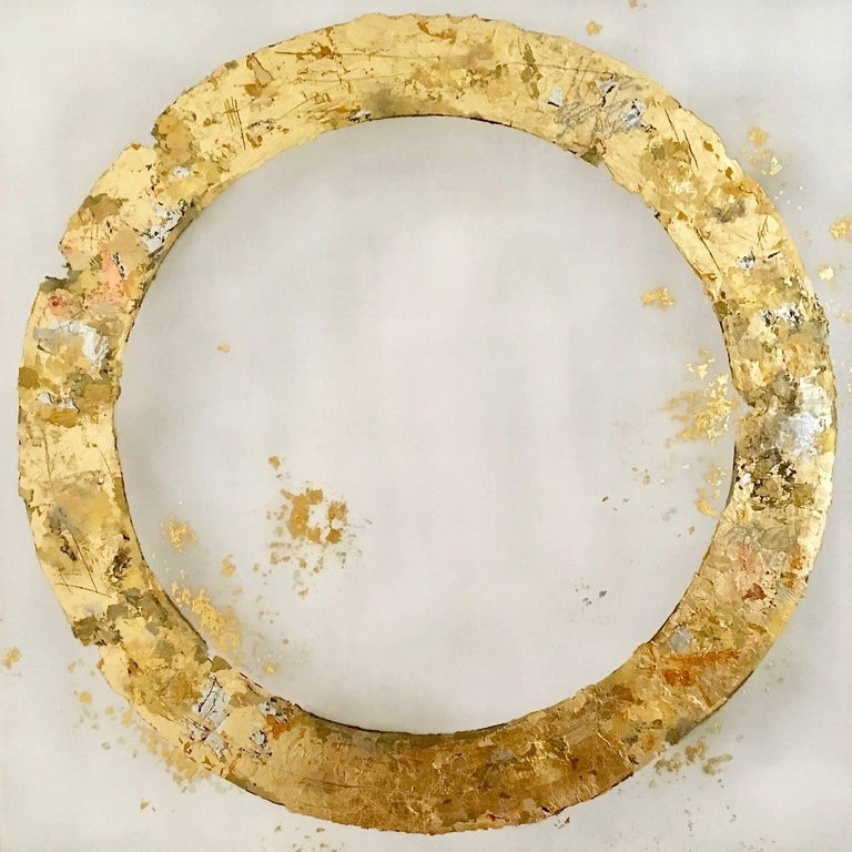 Takefumi Hori Abstract Painting - Circle 90
