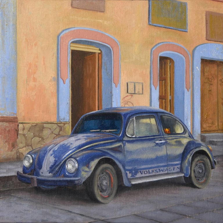 Volkswagen Beetle For Sale Atlanta Ga: Vocho Viejo #31, Painting For Sale At 1stdibs