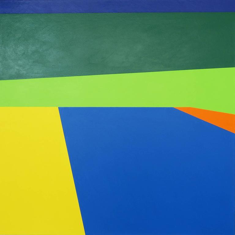 Martha Hughes Landscape Painting - Scene 186 - Pool