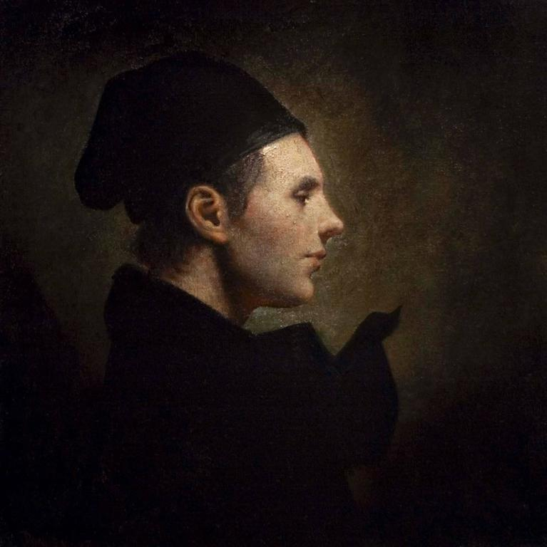 Ray Donley Figurative Painting - Cap 24