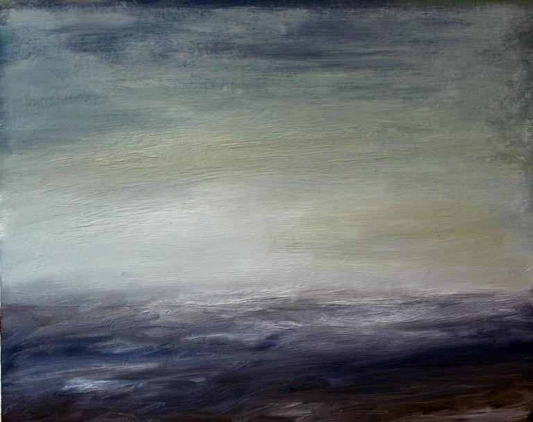 Sharon Gordon Landscape Painting - A Certain Quiet XIII