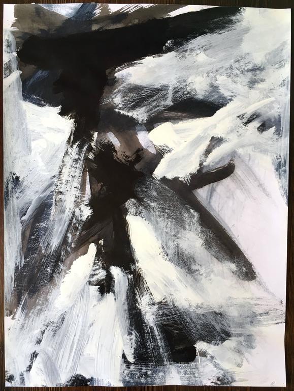 Stephanie Cate - Europa 19 Study (unframed) 1