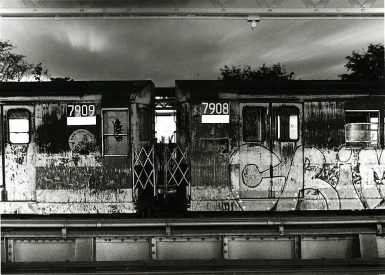 John Conn Black and White Photograph - Subway 43