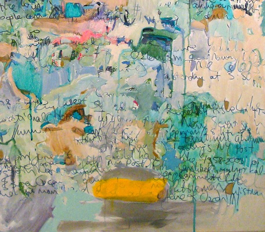 The Waters of December - Painting by Yasemin Kackar Demirel