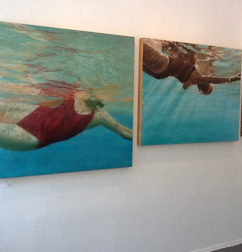 Manganese - Painting by Carol Bennett