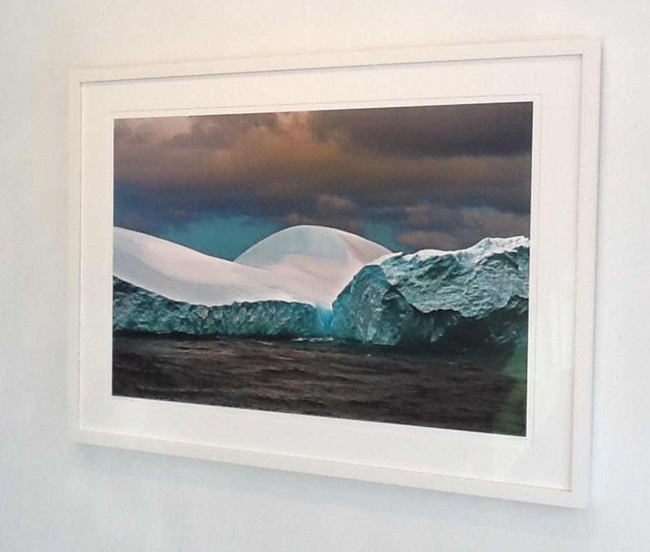 Antarctica #121 - Black Landscape Photograph by John Conn