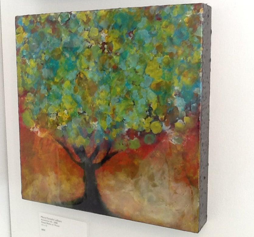 Organya - Painting by Marie Danielle Leblanc