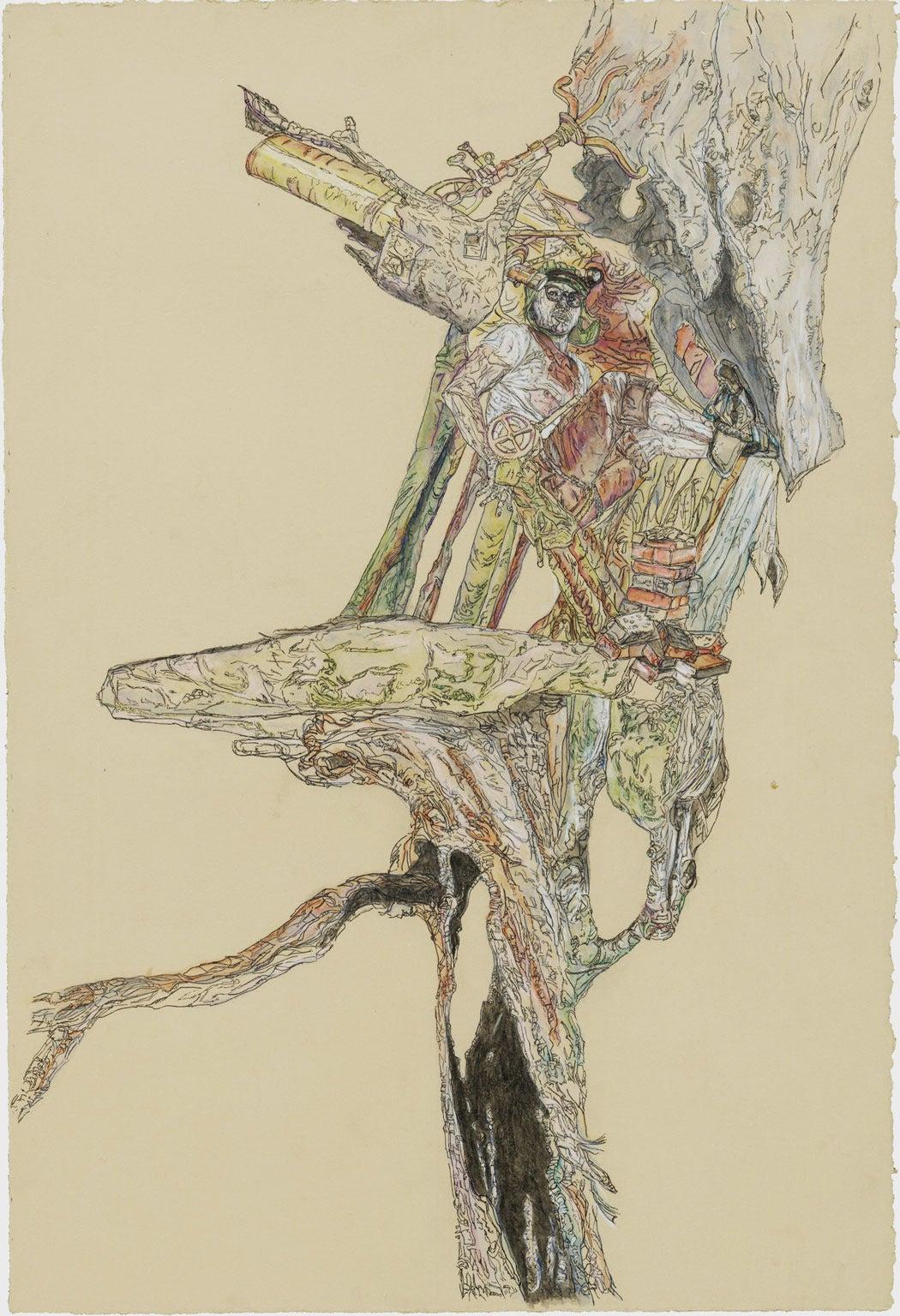 Krzysztof Pastuszka Figurative Art - Explorer