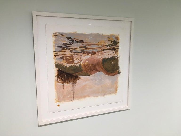 Salmon Study - Painting by Carol Bennett
