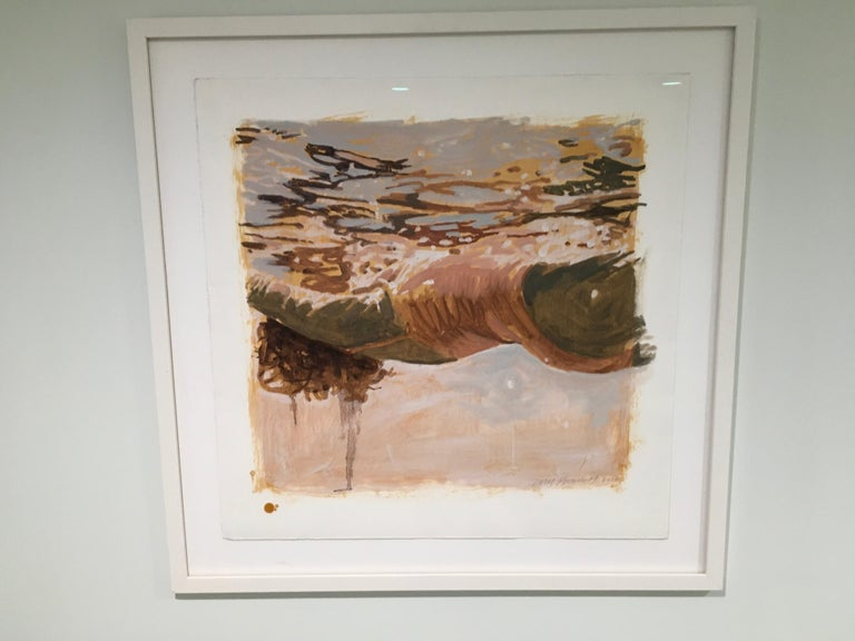 Carol Bennett Figurative Painting - Salmon Study