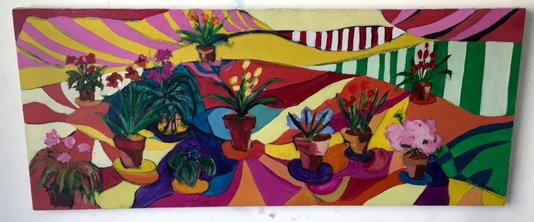 Joanne Cooper (b.1930) Still-Life Painting - Flowers