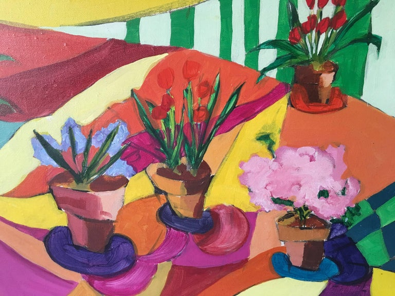 Flowers - Painting by Joanne Cooper