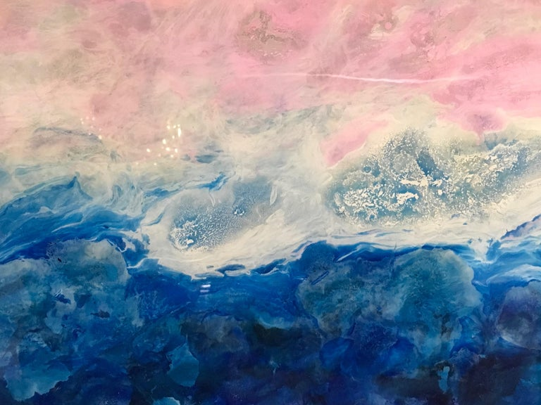Fiorland  - Contemporary Painting by Marie Danielle Leblanc