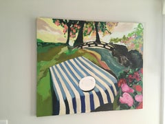 Picnic painting