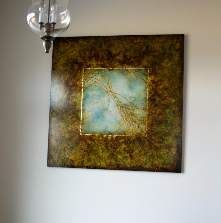 Through The Trunnel - Painting by Michelle Gagliano