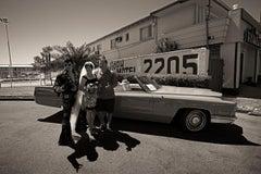 The Americans #1, Limited Edition Photograph, Vintage Car, Elvis, Las Vegas