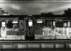 Subway 43, Black & White Photo, NYC, 1970s, Limited Edition