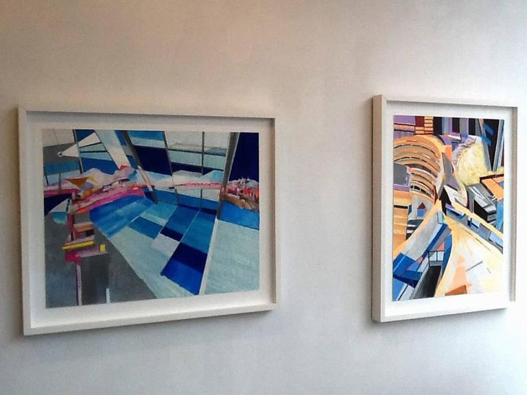 Into The Blue Yonder - Contemporary Art by Yasemin Kackar Demirel