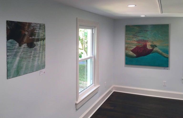 Manganese - American Realist Painting by Carol Bennett