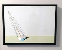 Darling, Oil and Acrylic Painting, Sailboat, Textured