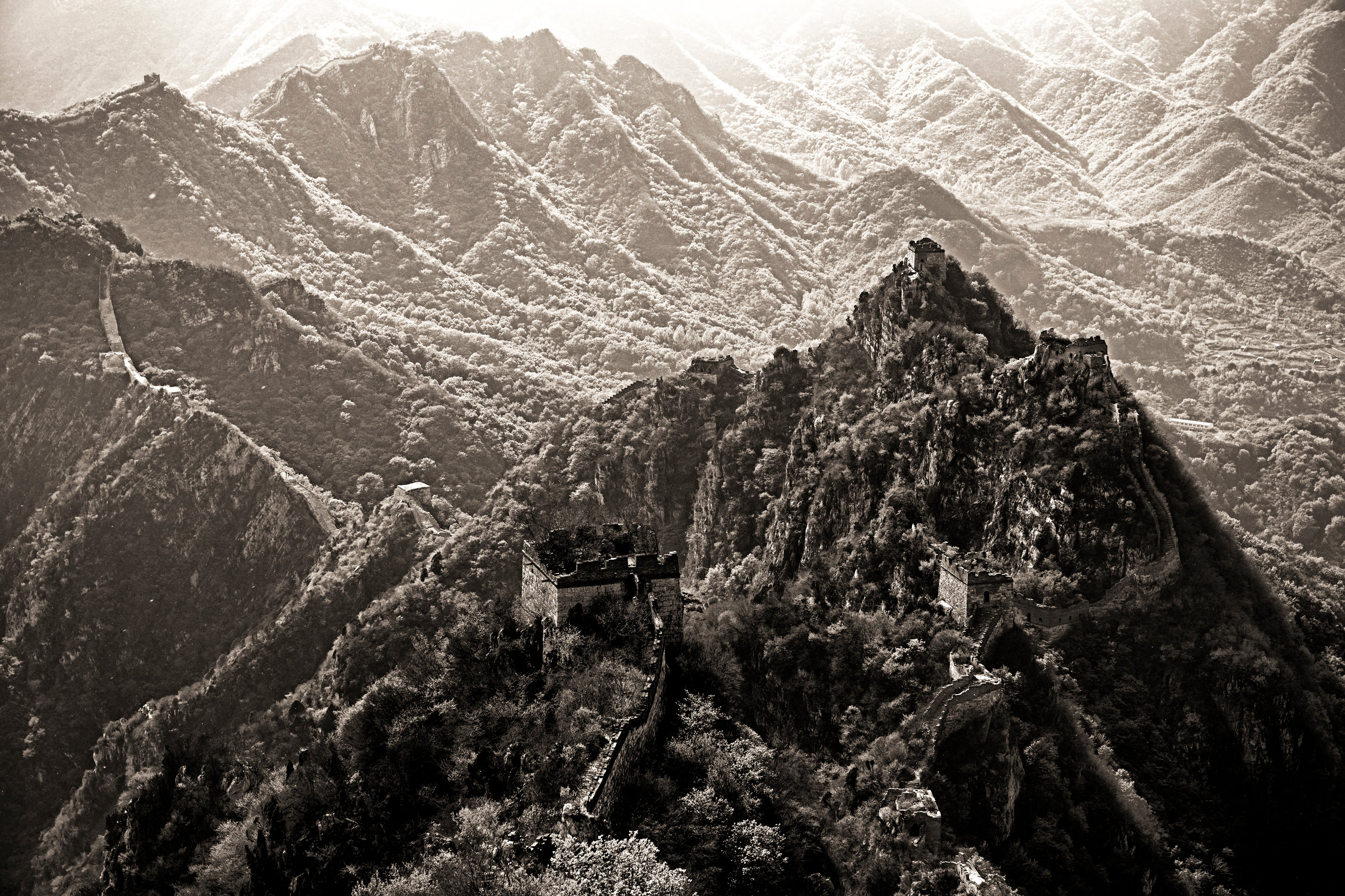 China #15, Black & White Photograph, Limited Edition Photograph, Asia, Travel