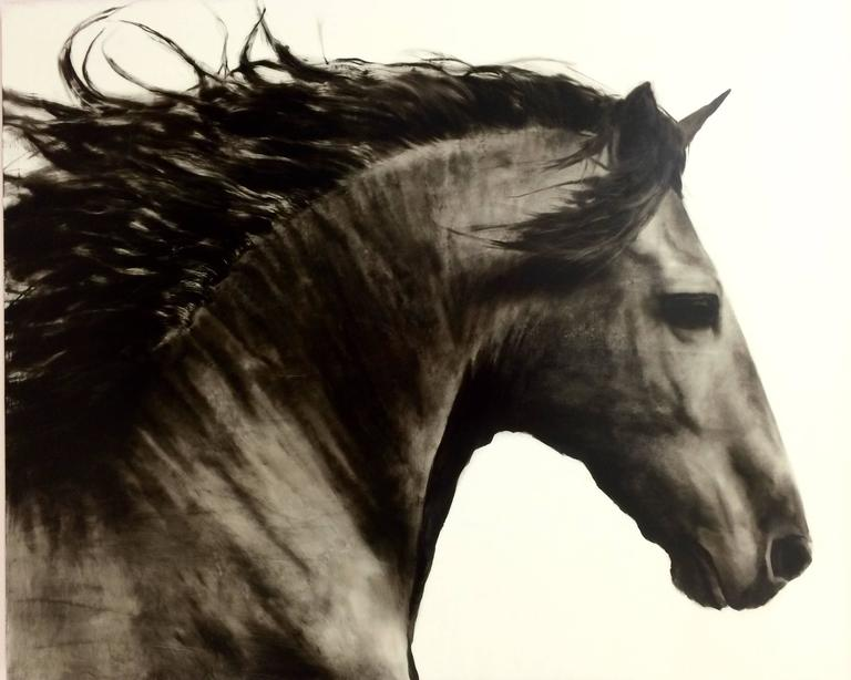 Ken Peloke Animal Painting - Flee to Freedom