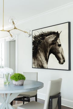 Flee to Freedom Equestrian Painting
