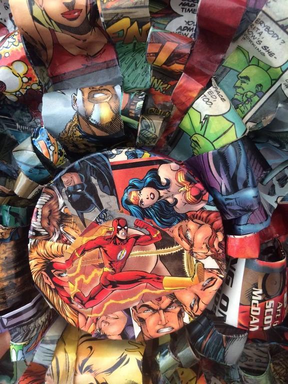 Galactic Hero - Mixed Media Art by Don Morris