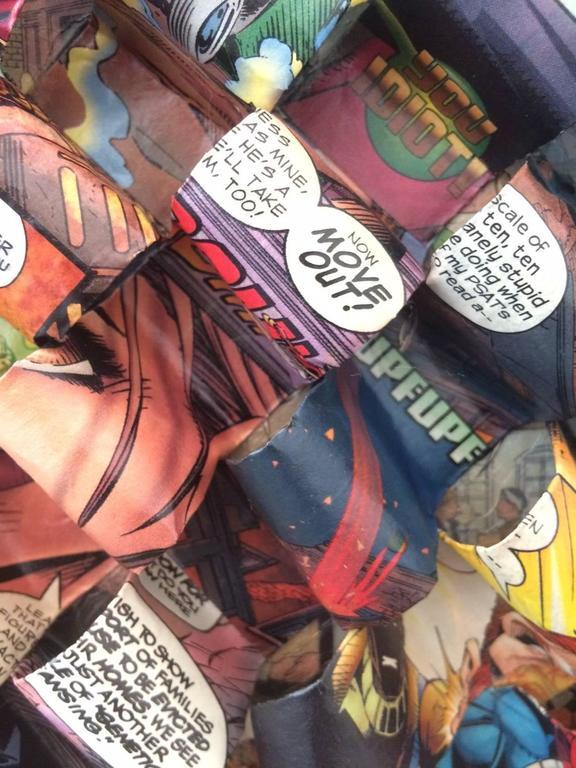 Galactic Hero - Contemporary Mixed Media Art by Don Morris