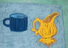 Blue Cup, Yellow Jug