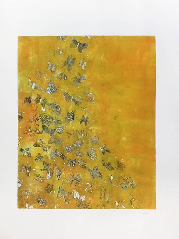 Fumiko Toda Animal Print - Butterfly Away
