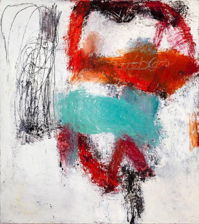 Margaret Fitzgerald Abstract Painting - Bounce