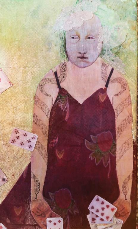 Deirdre O'Connell Figurative Painting - Charlotta