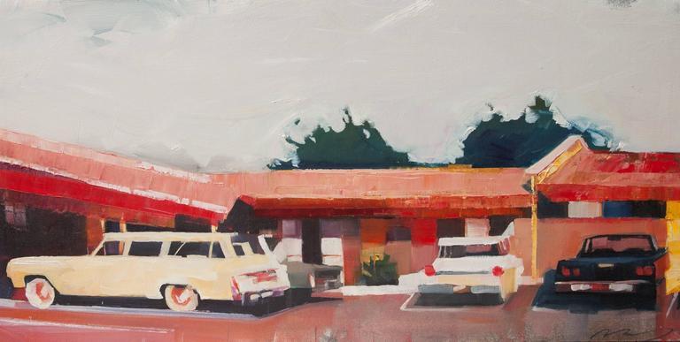Ruth Shively - Howard Johnson's Parking Lot 1