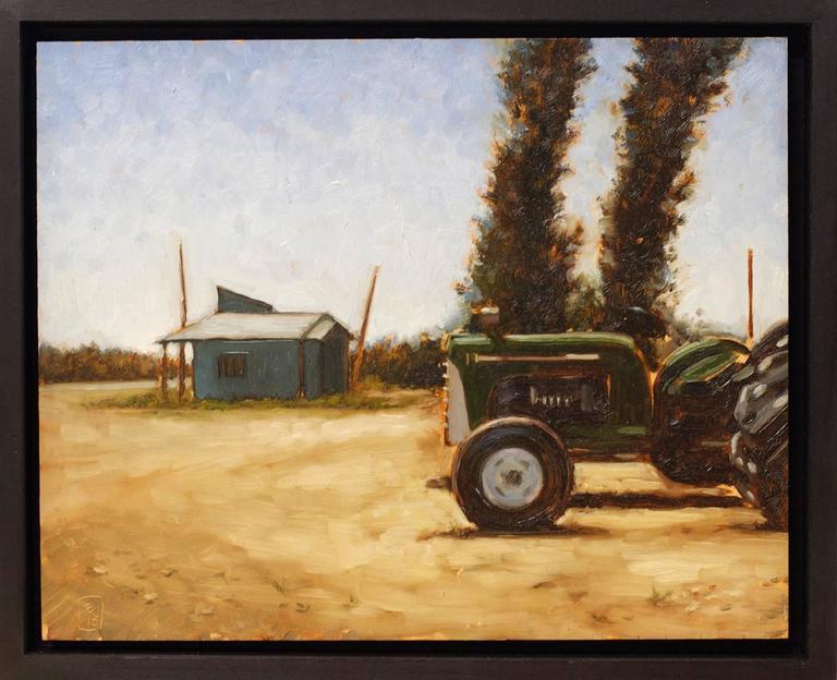 Beñat Iglesias Lopez Landscape Painting - Strawberry Field