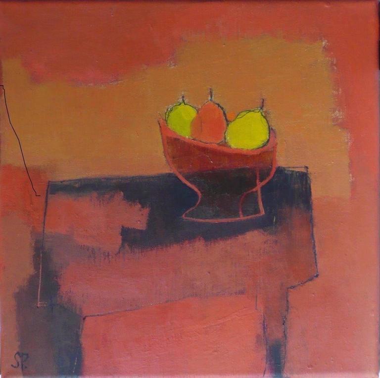 Sarah Picon Still-Life Painting - Harmonie Orange