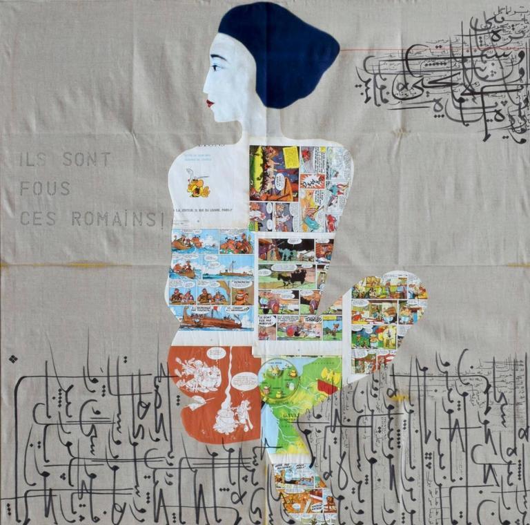 Jason Noushin Portrait Painting - Ils Sont Fous ces Romains!