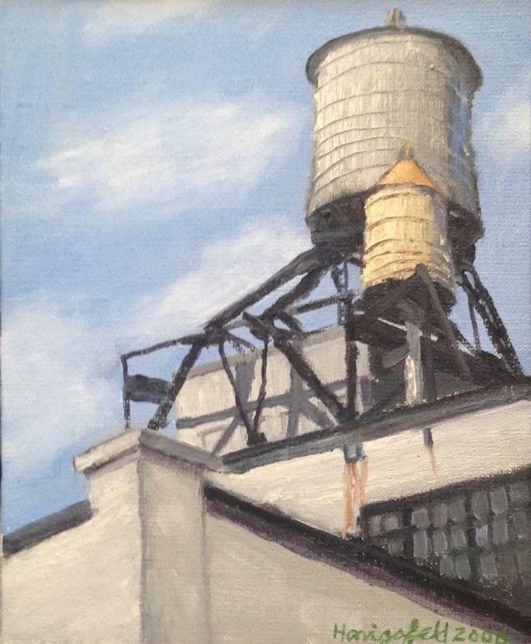 Victor Honigsfeld - LIC Water Towers 1