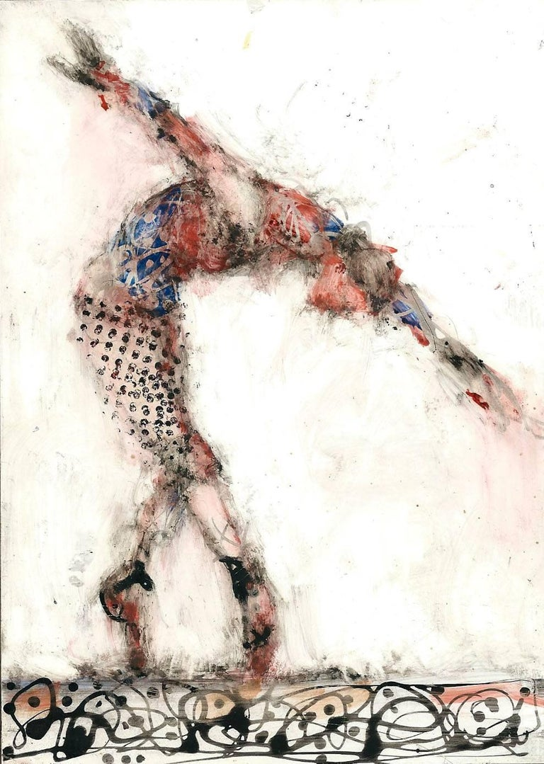 Alicia Rothman Animal Painting - Dancer Winter