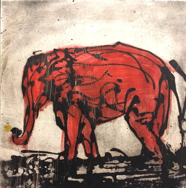 Alicia Rothman - Red Elephant 1