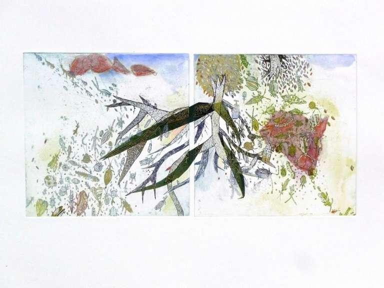 Fumiko Toda Abstract Print - Roots