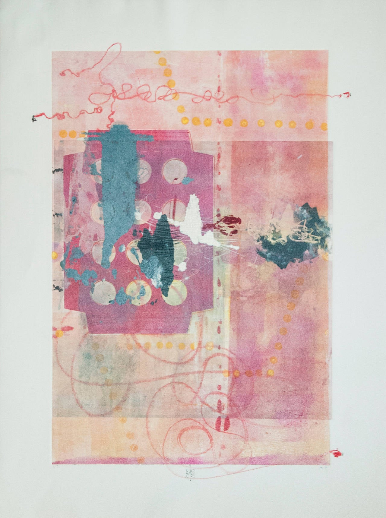 Karin Bruckner Abstract Print - PieceofCake