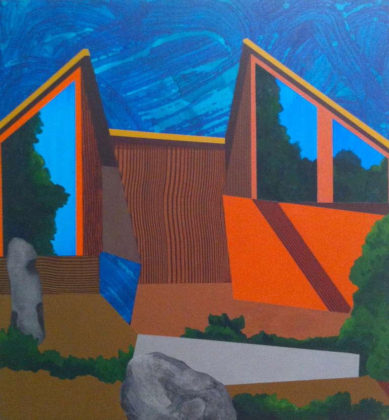 James Isherwood Landscape Painting - Wedger