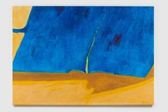 Untitled I (Blue Yellow Brown)