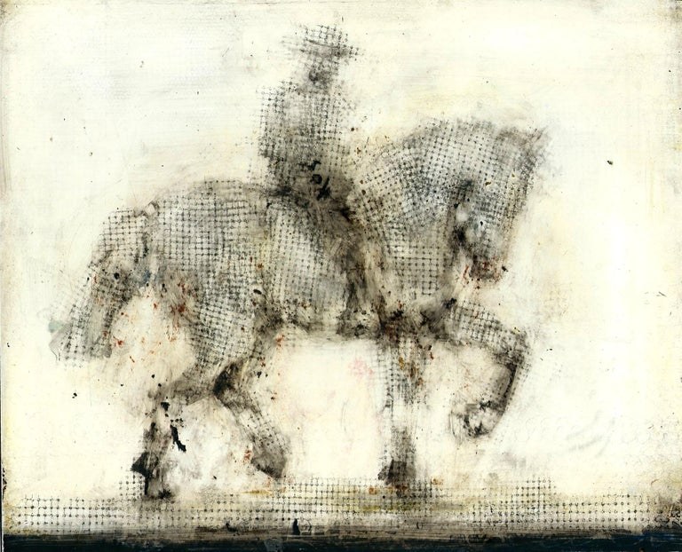 Alicia Rothman Animal Painting - Horse and Rider