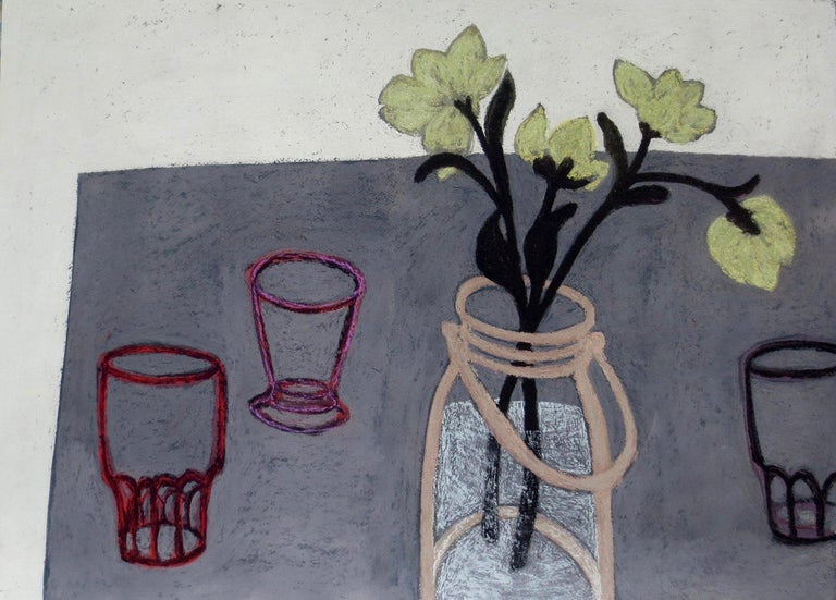 Angela A'Court Figurative Art - Finding Space I