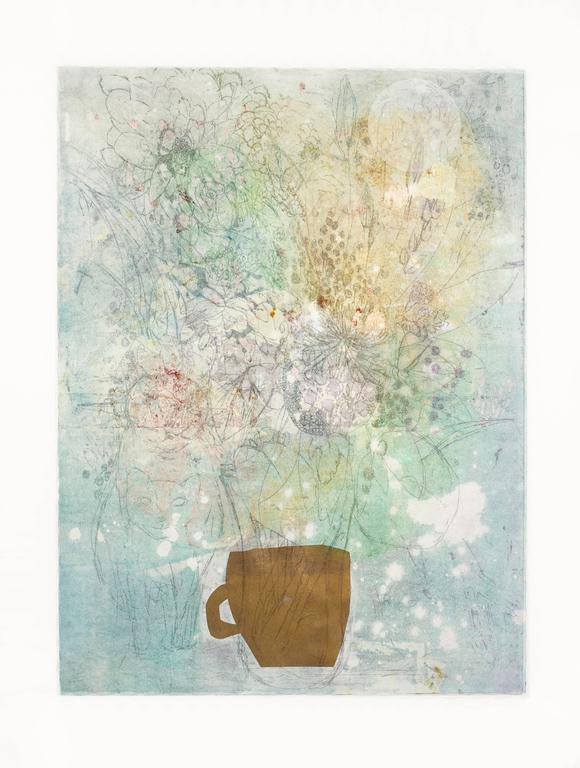 Fumiko Toda Abstract Print - Earl Grey